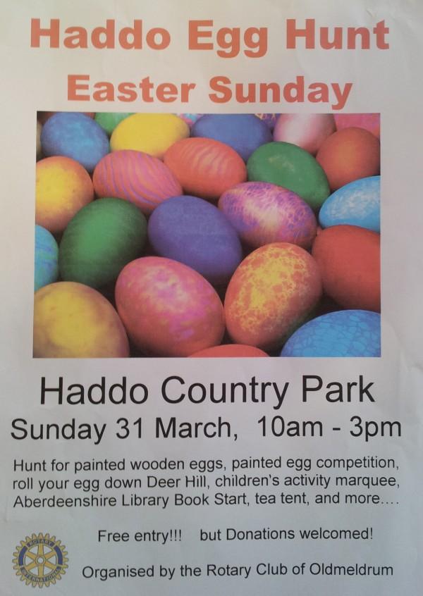 Haddo Egg Hunt 2013