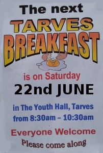 Tarves Breakfast 22 June