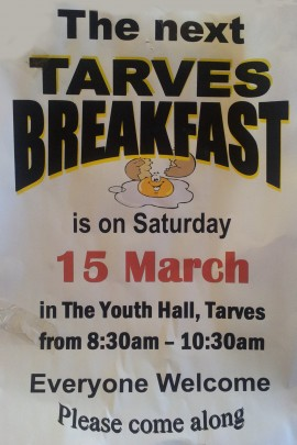 2014-03-March 11 - Tarves Breakfast
