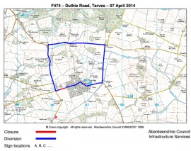 Duthie_Rd_Diversion