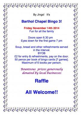 Bingo 3 poster