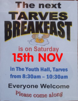Tarves Breakfast-Nov2014