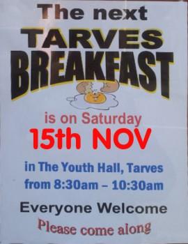 Tarves Breakfast-Nov2014