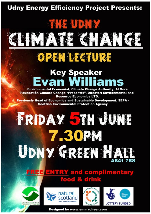 Udny Climate Change Poster