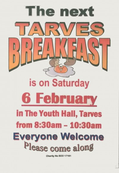 Tarves Breakfast-20160131