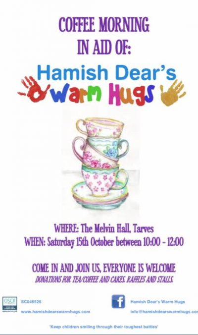 Attractive Please Come And Join With Us At A Coffee Morning In Eight Of Hamish Dearu0027s  Warm Hugs, Our Local Charity. All Welcome And Donations Very Gratefully  Accepted.