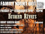 MUSIC LIVE AT UDNY GREEN – BROKEN RIVERS – 3rd FEB 2017